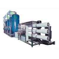 Quality 20M3 / Hr Seawater To Drinking Water Machine With Grundfos / CNP High Pressure Pump wholesale