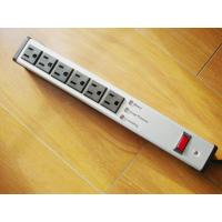 Quality Metal 6 Outlet Surge Protector Power Strip , Mountable Multiple Plug Socket wholesale