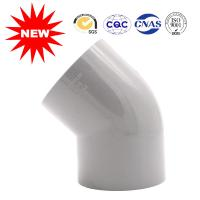 Quality Hot Pressed Water Supply Fitting Series Plastic Pipe Fittings 45 Degree Elbow wholesale