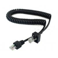 Quality Coiled 8P8C extension cable For Motorola ICOM wholesale