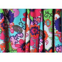 Quality Customized 40D Nylon Pantyhose Printed Spandex Fabric Tear Resistant wholesale