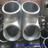 Quality Stainless Steel Pipe Tee A403 Wp304L Straight Tee Asme B16.9 Size 1/2 - 60 inch wholesale