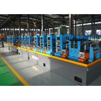 Quality Blue ERW API Pipe Mill / High Frequency API Tube Welding Machine wholesale