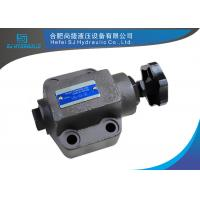 Quality Hydraulic Oil Adjustable Hydraulic Flow Control Valve Pressure 350 Bar wholesale