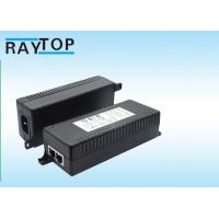 Quality 12V / 24V / 36V / 48V POE Adapter Power Over Ethernet Input 100 - 240V AC 50 / 60Hz wholesale