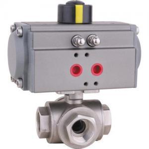 Quality Pneumatic 3 way ball valve wholesale