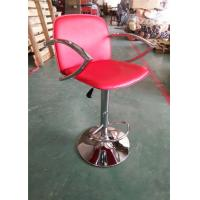 Quality Trendy Plastic Counter Stools , Wine Barrel Bar Stools Half Round Footrest wholesale