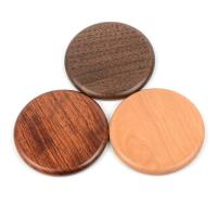 Quality Wood Qi Wireless Charging Pad For Phone , Customized promotional Gifts Qi Fast Charger wholesale