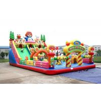 Quality KIDS Bouncer Bodyguard Air Bounce Backyard Inflatable Castle With Slides & Ladder wholesale