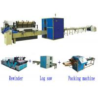 China Full Automatic High Speed Small Toilet Paper Roll Production Line on sale