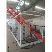 Quality 2019s cheapest price 25m3 mobile skid lpg gas refilling plant with double scales for sale, skid-mounted lpg gas station wholesale