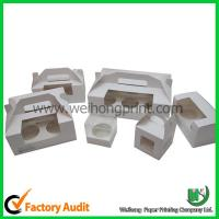 Quality Paper cupcake box with handle wholesale