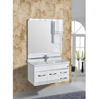 Quality Waterproof PVC Bathroom Cabinet 1000 * 480mm Bathroom PVC Vanity Cabinets wholesale