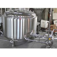 Quality 500L Custom Steam Commercial Beer Brewing Equipment With Mash Lauter Tun wholesale