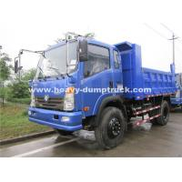Buy cheap Left Hand Driving Small Heavy Duty Dump Truck 150hp , 8.25R16 Radial Tire product