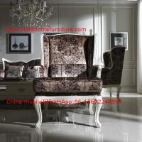 Cheap Neoclassical Living Room Furniture by Pure white Wall Unit and Coffee table with for sale