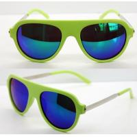 Quality AC Lens Retro Plastic Frame Sunglasses With 400UV Protection wholesale
