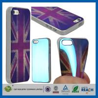 Quality Retro UK Style TPU Gel Soft Girls Fashion Durable Cell Phone Cases For Apple Iphone 5S wholesale