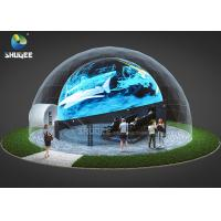 Quality 360 Mmersive Projection Dome Movie Theater With 16 Chairs Built On Playground wholesale