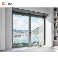 China Outward Simple Home 1.4mm Aluminium Frame Casement Window on sale