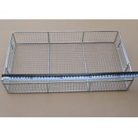 Quality Durable Deep Fry Basket Stainless Steel For Medical Disinfect Tray wholesale