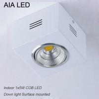 Quality IP42 White indoor surface COB 5W Ceiling down light&LED Grille light wholesale