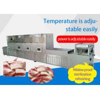 Quality Automatic Industrial Hot Sale Microwave Meat Thawing Machine Tunnel Type Meat Thawing Machinery Equipment wholesale