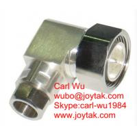 """Buy cheap DIN 7/16 male connector right angle clamp type for 1/2""""cable competitive price from wholesalers"""