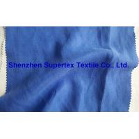 Quality Slubby Twill Cupro Tencel Linen Solid Dyed Fabric wholesale
