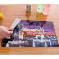 China Promotional PP/PVC Placemat Table Mat With Good Quality,vinyl weven decorative PVC placemats recycled table mat,Silicon on sale