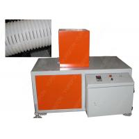 China Automatic Hole Punching Machine 3 - 6 M / Min For Corrugated Pipe Hole Grooving on sale