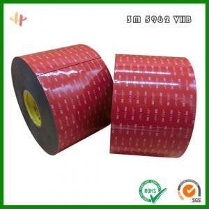 Quality 3m 5962 VHB Acrylic Foam Tape,3m 5962 double-sided 1.6mm thick VHB acrylic foam tape wholesale
