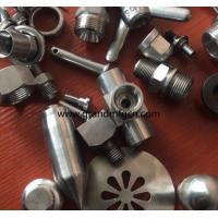 China male thread OEM,ODM stainless steel precision machined & turned down parts natural finishing SS304 connector fittings on sale