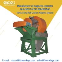 Quality Wet High Gradient Magnetic Roll Separator 80 - 120m³ / H 415V 3900 X 3300 X 3800mm wholesale