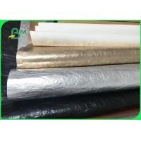 China Imported Environmental Material Colorful Washable Kraft Paper For Making Bags on sale
