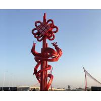 Quality Painted Modern Garden Sculptures Outdoor Decorative Stainless Steel Statues wholesale