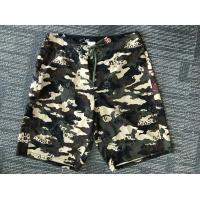 China Hot Sale Beach Wear 100% Polyester camo printed Board Shorts, High Quality Beach Shorts on sale