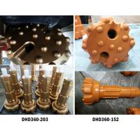Quality 6 inch High Air Pressure DHD360 drill bit and hammer for Down the hole rock drilling wholesale