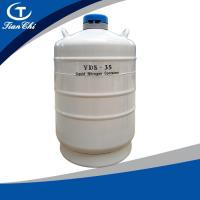 China TianChi liquid nitrogen gas cylinder 35L in Papua New Guinea Aviation aluminum color manufacturers on sale