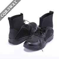 China Easy Wear 7 inch Men's Boots Commando, Men Fashion Leather Footwear on sale