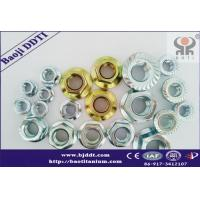 China Titanium and titanium alloy gr2 or gr5  Flange Nuts DIN934  manufacture Suppliers on sale