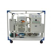 China Transformer Insulation Oil Purifying Machine With Dehydration ISO / CE Certification on sale