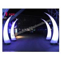 Cheap Led Inflatable Cone Entrance Archway Inflatables For Light Art Festival for sale