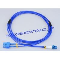 Quality Armored Fiber Optic Patch Cable SC - LC G.652D High Resistance Duplex wholesale