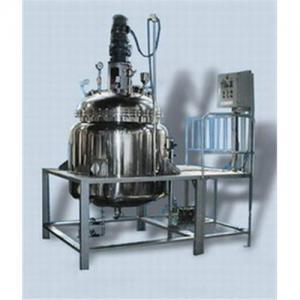 China Vacuum liquid mixing machine on sale