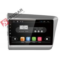 Quality New Allwinner T3 Android Car Navigation System Honda Civic Head Unit With 4G WIFI wholesale