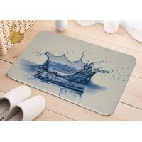 Quality Printing Anti-Bacterial Absorbent Non Slip Area Rugs , Non Slip Floor Area Mat Rugs wholesale