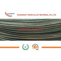 Quality 6-8mm Oxidized Fecral Resistance Heating Wire Cold Rolled High Resistivity wholesale