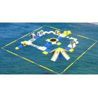 Quality Adult Inflatable Water Play Equipment For Sea / Inflatable Water Park Design Build wholesale