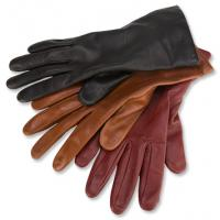 China cow grain leather glove lady leather driving gloves on sale